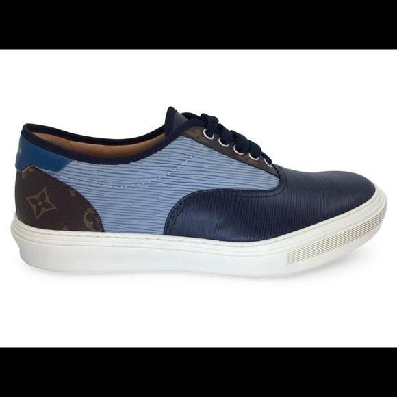 9c2770ab55 Louis Vuitton Shoes | Trocadero Richelieu Sneaker 105 Us | Poshmark
